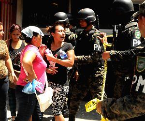 HONDURAS SAN PEDRO SULA SECURITY MUTINY