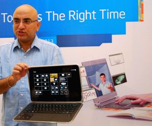 Launched Intel Ultrabook laptop