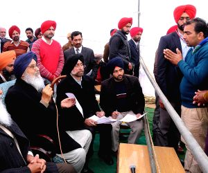 Punjab CM during a Sangat Darshan programme