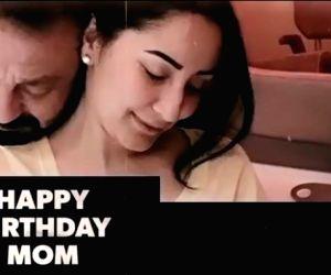 Sanjay Dutt calls his wife 'mom'