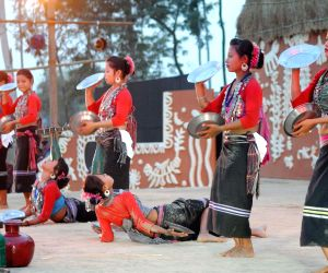 Adi Bimb a three-day long national festival of tribal dance, music and theatre