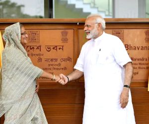 Hasina hopes India, Bangladesh will resolve disputes amicably