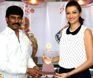 Santosham South Indian film awards function