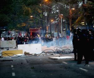 Sao Paulo: Students of USP protest