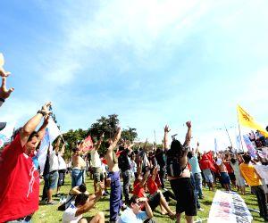 BRAZIL SAO PAULO PROTEST LAYOFFS