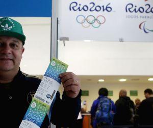 BRAZIL SAO PAULO OLYMPICS