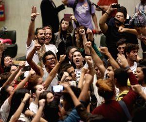 BRAZIL-SAO PAULO-STUDENT PROTEST