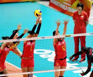 JAPAN-SAPPORO-VOLLEYBALL-WOMEN'S WORLD CHAMPIONSHIP-CHINA VS CANADA