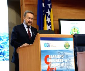 BOSNIA AND HERZEGOVINA-SARAJEVO-SARAJEVO BUSINESS FORUM