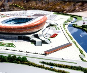 RUSSIA SARANSK FIFA WORLD CUP CITY