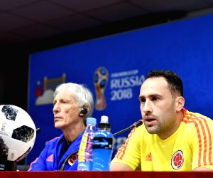 RUSSIA-SARANSK-2018 WORLD CUP-COLOMBIA-PRESS CONFERENCE