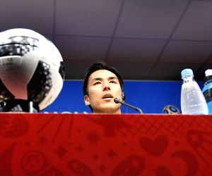 RUSSIA-SARANSK-2018 WORLD CUP-JAPAN-PRESS CONFERENCE