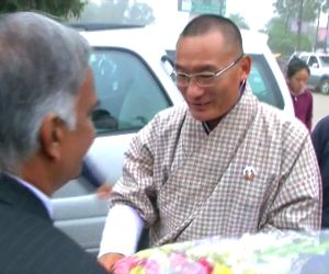 Bhutanese PM visits Sarnath
