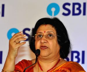 Arundhati Bhattacharya's press conference