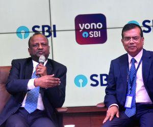 Mumbai: SBI Chairman Rajnish Kumar addresses a press conference