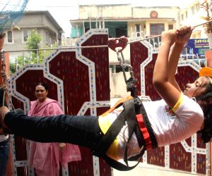 School childrens at summer camp in Patna