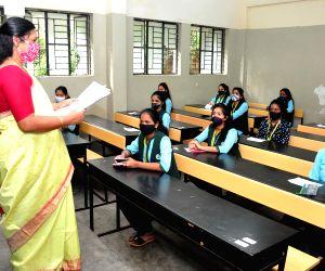 Regular classes for grades 6 to 8 across most Karnataka areas
