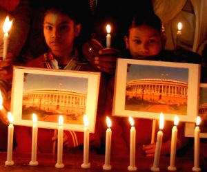 A candlelight vigil to pay tribute to martyrs of '13/12 Parliament Attacks'