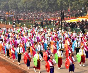 Republic Day Parade 2018 - School students