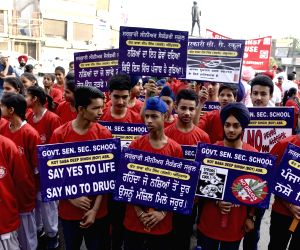 Run Against Drug Abuse' - an awareness rally