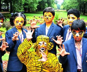 Eve of International Tigers Day - Students spread awareness