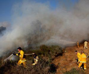ISRAEL SDEROT FIRE