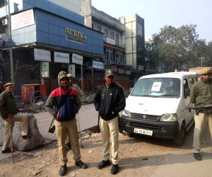 Delhi Polls 2020 - Security beef up at Ballimaran