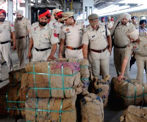 Security beefed up in city railway station