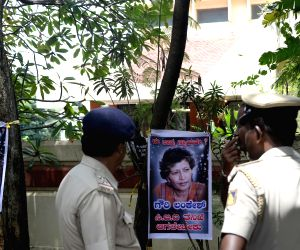Security beefed up at Gauri Lankesh's residence