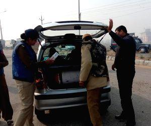 Security beefed up in Haryana's Rohtak ahead of CBI court's verdict in journalist Ram Chander Chhatrapati murder case in which Dera Sacha Sauda sect chief Gurmeet Ram Rahim Singh is accused, ...