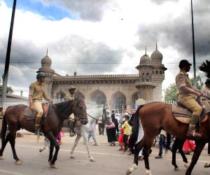 Security beefed-up near Mecca Masjid