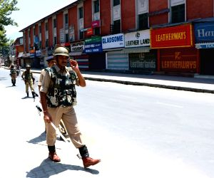 Curfew in valley