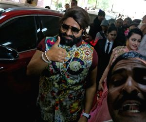 Gurmeet Ram Rahim Singh's  cow milk party