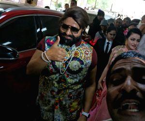 Gurmeet Ram Rahim Singh's  cow milk party