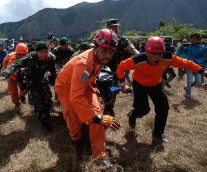 INDONESIA EAST LOMBOK EARTHQUAKE AFTERMATH EVACUATION