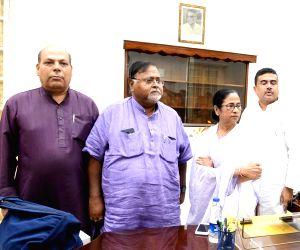 Senior Congress leader Omprakash Mishra joins Trinamool Congress