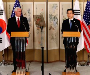SOUTH KOREA SEOUL U.S. MIKE PENCE VISIT
