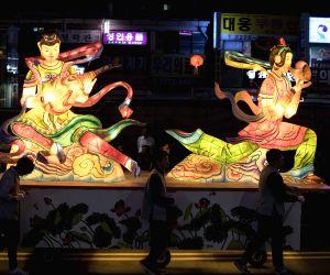 SOUTH KOREA SEOUL LANTERNS BUDDHA