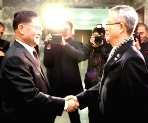 SOUTH KOREA DPRK TALKS WINTER OLYMPICS