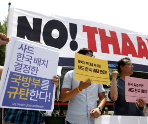 SOUTH KOREA SEOUL US THAAD DEPLOYMENT PROTEST