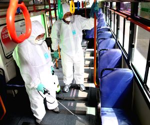 SOUTH KOREA SEOUL MERS DISINFECTION