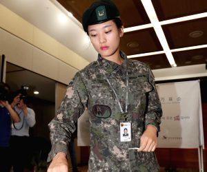 SOUTH KOREA SEOUL ELECTION SOLDIERS VOTE