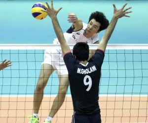 IRAN-TEHRAN-VOLLEYBALL-18TH ASIAN MEN'S VOLLEYBALL CHAMPIONSHIP-SOUTH KOREA VS IRAN