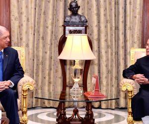 Seychelles President calls on President Mukherjee