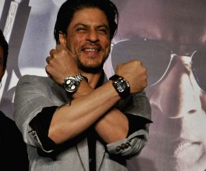 Shah Rukh Khan launches Don 2 Tag Heur Watches at Cinemax.