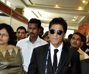 Shah Rukh Khan were present at the inaugural session of FICCI Frames 2010.