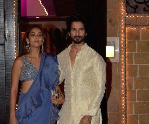 Shahid Kapoor's online 'war' with wife Mira