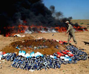 PAKISTAN SHAHKAS DRUGS DESTRUCTION