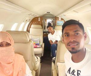 Shakib, Rahman reach Bangladesh in chartered flight