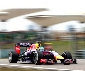 Practice session of the Formula One Chinese Grand Prix